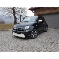 [Elektromobil Fiat 500e Čierny 2014 #702]