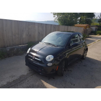 [Elektromobil Fiat 500e Čierny 2014 #744]