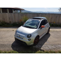 [Elektromobil Fiat 500e Sport Strieborný 2014 #928]