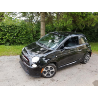 [Elektromobil Fiat 500e Čierny 2013 #678]