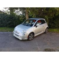 [Elektromobil Fiat 500e Strieborný 2014 #728]
