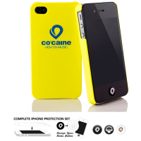 [Co:caine Slap Yellow iPhone 4 / 4S]