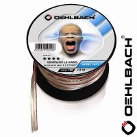 [Oehlbach 186 Silverline Speaker 20m transparent 2x2,5mm²]