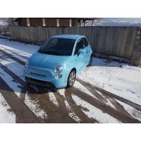 [Elektromobil Fiat 500e Modrá 2014 #325]