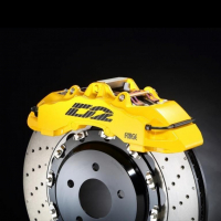 [Big Brake Kit D2 Audi 100  QUATTRO 85~90 Tył]