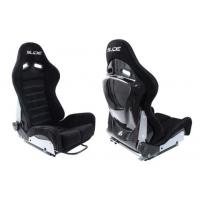 [Športová sedačka SLIDE X3 Semišové Black (polohovateľná) M]