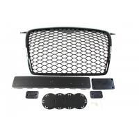[GRILL AUDI A3 8P RS-STYLE BRIGHT BLACK (05-09)]
