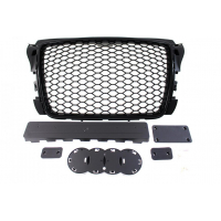 [GRILL AUDI A3 8P RS-STYLE BRIGHT BLACK (09-12)]
