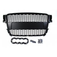 [GRILL AUDI A5 8T RS-STYLE BLACK (07-10)]