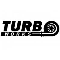 [Naklejka TurboWorks Czarna]