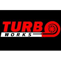 [Naklejka TurboWorks Czerwono-Biała]