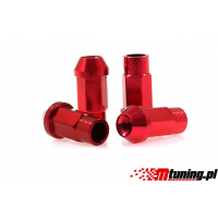[Nakrętki JBR 50mm M12 x1.5 RED]