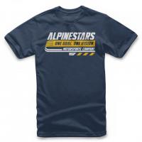 [Detské modré tričko BRAVO TEE Alpinestars krátke 3038-72006 70]