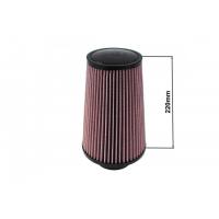 [Filtr stożkowy TURBOWORKS H:220mm OTW:60-77mm Purple]