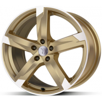 [RONDELL DESIGN 01RZ - RACING-GOLD POLIERT]