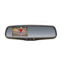 """[Monitor 4,3"""" integrovaný do spätného zrkadlapre vozidláVW, Škoda, Audi, Peugeot, Citroen, Subaru]"""