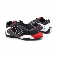 [Sparco Topánky SP-F5 BLACK-WHITE-RED]