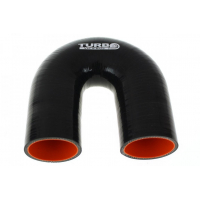 "[Silikónové koleno TurboWorks Pro Black 180° - 30mm (1,18"")]"