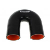 "[Silikónové koleno TurboWorks Pro Black 180° - 45mm (1,77"")]"