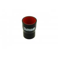 """[Silikónová Redukčná spojka TurboWorks Pro Black - 63 na 89mm (2,48"""") na (3,5"""")]"""