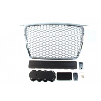 [GRILL AUDI A3 8P RS-STYLE CHROME (05-09)]