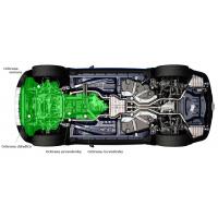 [Oceľový kryt motora a chladiča na BMW 5-series 528i xDrive (F10) ]