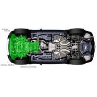 [Oceľový kryt motora, chladiča, prevodovky, radiátora a reduktor na NISSAN Navara IV ]