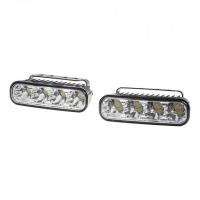 [LED svetlá pre denné svietenie, 120x36mm, ECE]