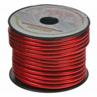 [Kábel 6 mm, červeno transparentné, 25 m bal]
