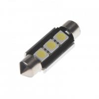 [LED sufit (39mm) biela, 12V, 3LED / 3SMD]