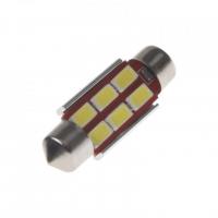 [LED sufit (36mm) bílá, 24V, 6LED/5730SMD s chladičem]