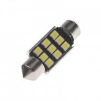 [LED sufit (36mm) bílá, 12V, 9LED/2835SMD s chladičem]