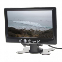 """[LCD monitor 7"""" černý na palubní desku]"""