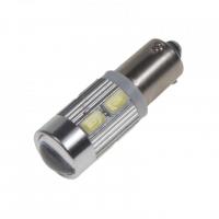 [LED BAX9s biela, 12-24V, 10LED / 5730SMD]