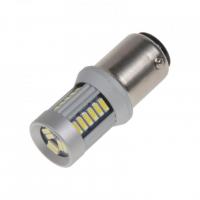 [LED BAY15d (dvouvlákno) biela, 12-24V, 30LED / 4014SMD]