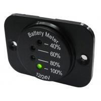 [LED indikátor batérie 12-24V vrátane panelu]