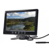 """[LCD monitor 9 """"čierny do opierky alebo palubnú dosku]"""