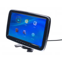 "[LCD monitor 10,1 ""na opierku / palubnú dosku s microSD / USB / FM modulátor]"