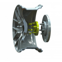 [Rozširovacia podložka na zmenu rozteče pre MERCEDES-BENZ Sprinter EU verzia 219 CDI 2007-2013 (6x130, 84.1)]