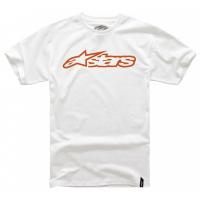 [Detské biele tričko BLAZE TEE Alpinestars krátke 3038-72000 2040]