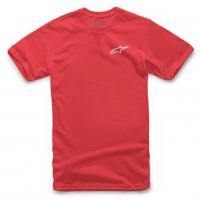 [Pánske červené tričko NEU Ageless Alpinestars krátke 1018-72012 3020]
