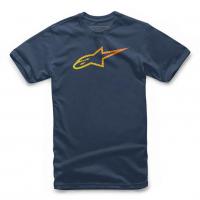 [Pánske modré tričko Ageless GRADE TEE Alpinestars krátke 1119-72002 70]