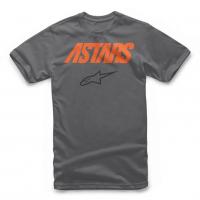 [Pánske sivé tričko ANGLE COMBO TEE Alpinestars krátke 1119-72000 18]