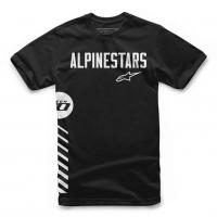 [Pánske čierne tričko Wordle TEE Alpinestars krátke 1119-72008 10]