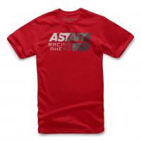 [Pánske červené tričko PACER TEE Alpinestars krátke 1119-72020 30]