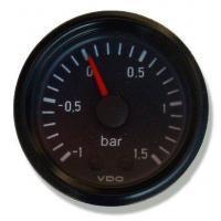 [Wskaźnik ciśnienia doładowania -1 do 1.5 Bar Mechanic 52mm]