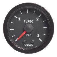 [Wskaźnik ciśnienia doładowania VDO 3 Bar Mechanic 52mm 12V CV]