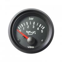 [Wskaźnik ciśnienia oleju VDO 5 Bar 52mm 12V]