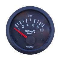 [Wskaźnik ciśnienia oleju VDO 10 Bar 52mm 12V]