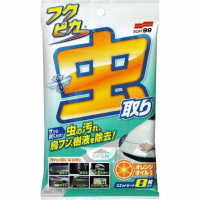 [Soft99 Fukupika Bugs & Droppings Removal Wipes 8 szt.]